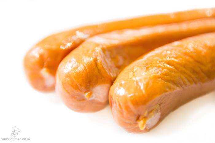 Beef Chilli hot dogs and sausages wholesale UK suppliers and distributors The Sausage Man