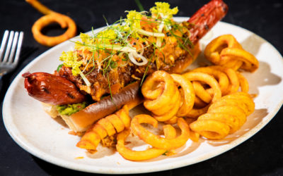 Chef Bjoern's Beef and Pulled Pork Dog